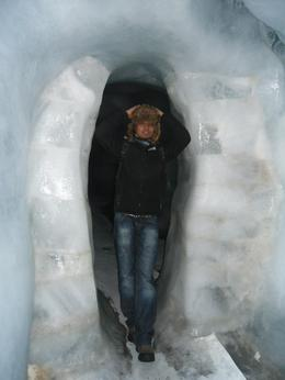 Mummified inside the glacier cave!, Mohamed M - November 2010