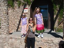 Photo of Barcelona Montserrat and Cava Trail Small Group Day Trip from Barcelona My girls with a great guide!