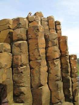 Basalt columns of the Giant's Causeway. , Michelle K - September 2012