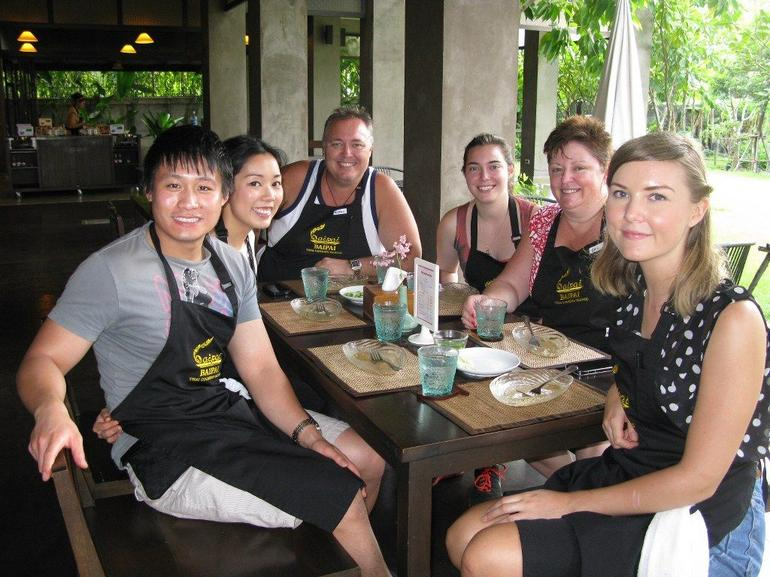Our Baipai Cooking School Group - Bangkok