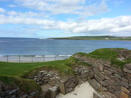 Taken from Skara Brae looking out across the beach. , Kathleen A - September 2014