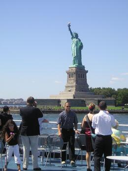 Great view of the Statue of Liberty during our World Yacht Sunday Brunch cruise., Darlene S - September 2008