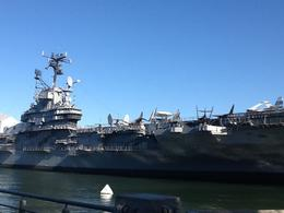 The Intrepid Aircraft carrier , Vicky - October 2014
