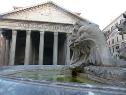 The fountain in front of the Pantheon, Erica D - June 2009