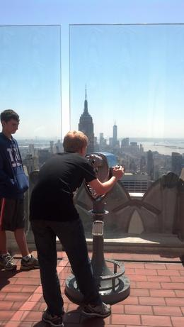 Photo of New York City Top of the Rock Observation Deck, New York View of Viewfinder