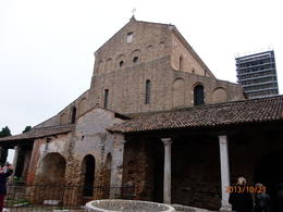 A must see old church in Torcello. The interiors wall paintings are in gold and a sight to see, , McKenzie L - October 2013