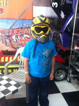 Photo of Las Vegas Nellis Dune Buggy Tour All suited up!
