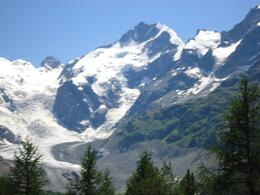 A photo taken from the Bernina Express to St. Mortiz. One of the many breath-taking views! , Debbie B - August 2013