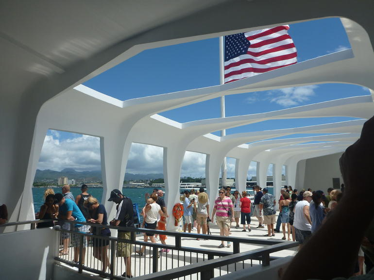 Arizona Memorial. - Oahu