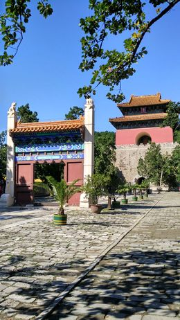 A view of the Ming tomb , URJIT Y - September 2015