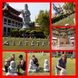 We loved to have our photo taken with all the different buddhas...This was a wonderful part of the Singapore Round Island Tour...... , Debra P - March 2015