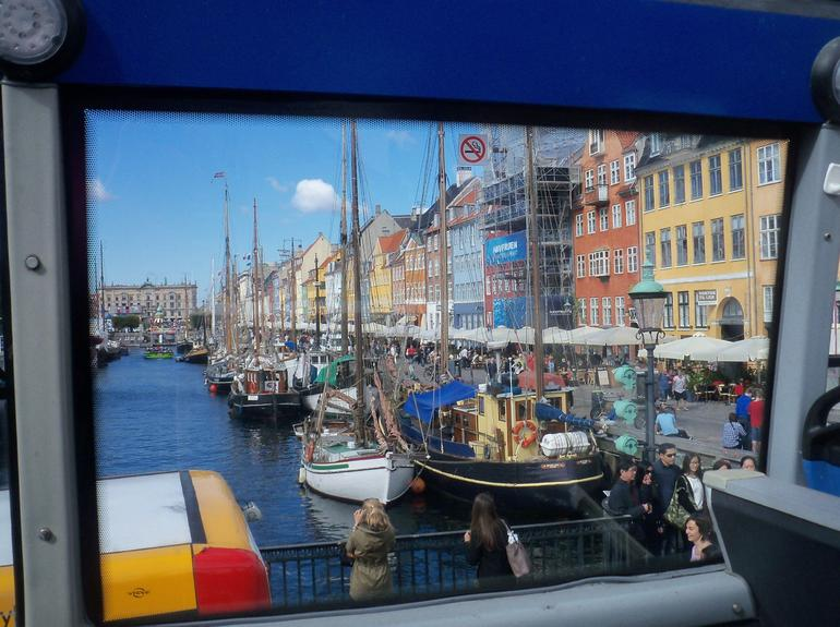 This photo was taken from the Hop On/Hop Off Bus---Mermaid Tour.