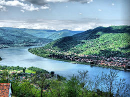 Danube Bend as seen from the Visegrad Castle, Hungary, by David Spender via Flickr ~ used under CC-BY license - May 2011