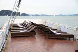 Photo of Hanoi Halong Bay Overnight Junk Boat Cruise Deck