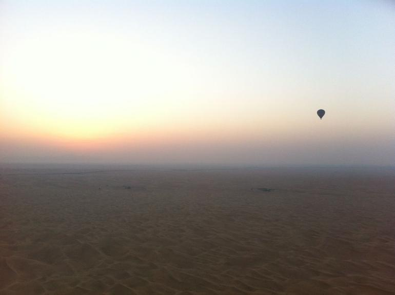 Dubai hot air balloon - Dubai