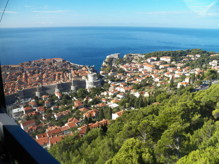 Dubrovnik from nearby peak - Dubrovnik