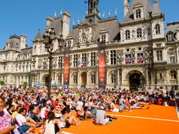 Photo of Paris Paris Walking Tour: Discover the Marais District Enjoying the Tournament!