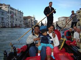 Gondola ride in Venice., Nabarun N - June 2008