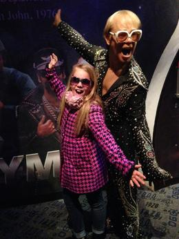Photo of New York City Madame Tussauds New York Grace and Elton