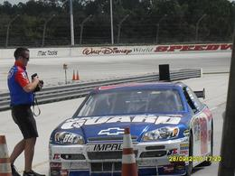 Photo of Orlando Race Car Ride-Along Program at Walt Disney World Speedway Orlando Hear I Go