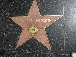 Photo of   Michael Jackson's star on the Hollywood Walk of Fame, Los Angeles
