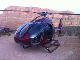 Photo of Las Vegas Grand Canyon West Rim Deluxe Sunset Helicopter Tour Our helicopter