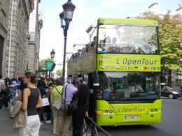 One of the many L'Open Tour buses we enjoyed during our week in Paris, Stephen T - September 2010