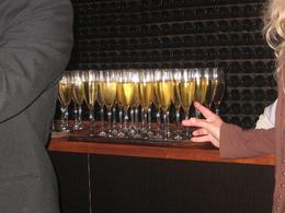 After a fun-filled ride through the wine caverns, a fine glass of sparkling brut was enjoyed by all., Joseph P - May 2008