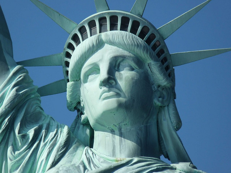 Statue of Liberty Face - New York City
