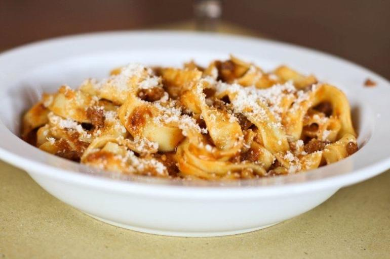 Tagliatelle with Bolognese - Florence