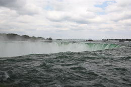 This photo was taken on the Canadian side at the top of the falls. This was where we all felt the sheer power and majesty of the falls. , Suzanne R - June 2014