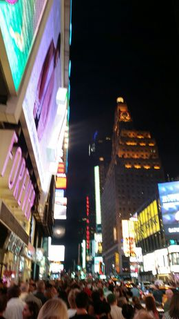 Lights at Times Square , Catherine F - August 2015