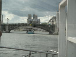 View of Notre Dam from the boat , anil pratap s - June 2013