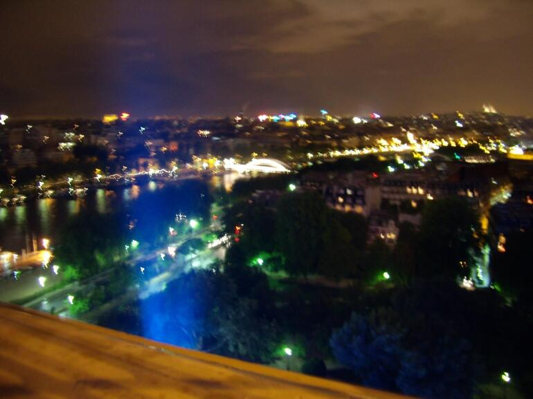 View from the Eiffel Tower - Paris