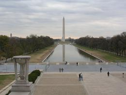 Photo of New York City Washington DC Day Trip from New York View of Washington Monument from the Lincoln Memorial