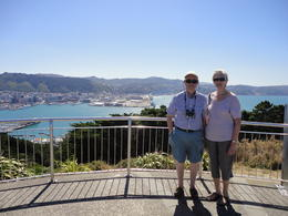 In Wellington on our North Island tour - February 2014