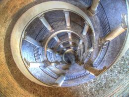 Top of the Bramante Staircase , DAVID P - October 2012