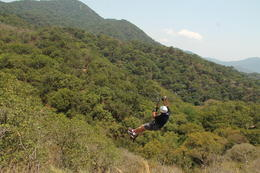 This was my very first zip-line, and enjoyed every moment of IT. , LEON C - May 2013