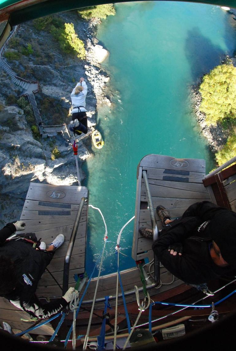 Be sure to jump headfirst - Queenstown