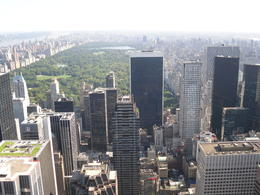 Photo of New York City Top of the Rock Observation Deck, New York Central Park View