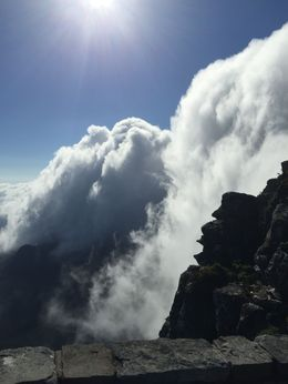 The view on top of Table Mountain , tiffanynoraj - March 2015