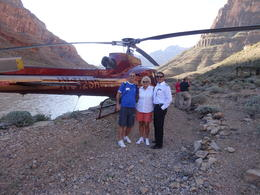 myself and my wife with Robert our pilot at the side of the Colorada River. , RICHARD P - October 2013