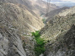 Photo of Palm Springs Palm Springs Aerial Tramway Half Way Up