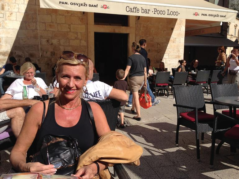 At Lunch - Dubrovnik