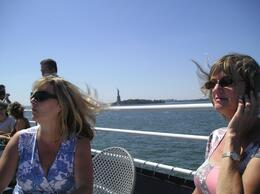 Great Time! See Statue of Liberty in the background., Darlene S - September 2008