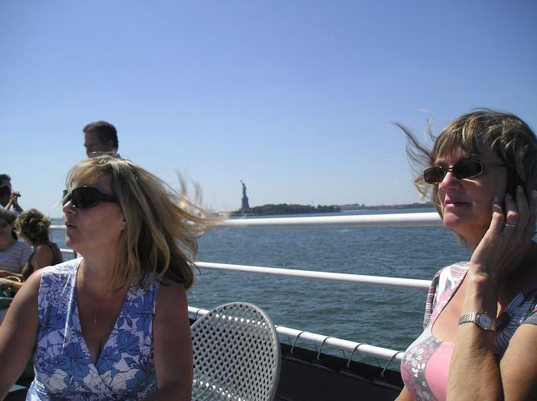 Laverne and Jan on New York Sunday Brunch Cruise - New York City