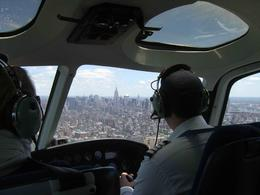 Photo of New York City Manhattan Sky Tour: New York Helicopter Flight On board our flight over Manhattan