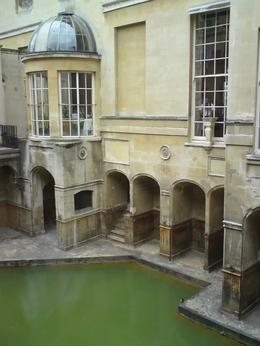 The source of hot spring in the Roman Bath - May 2010