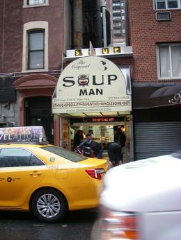 Photo of New York City New York TV and Movie Sites Tour Soup any one?