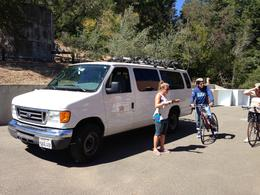 Photo of San Francisco Wine Country Bike Tour and Picnic Lunch with Transport from San Francisco Start of bike tour